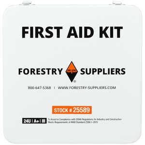 Forestry Suppliers Unitized First Aid Kit, 24-Unit
