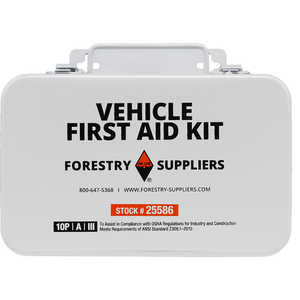 Forestry Suppliers 10-Person Vehicle First Aid Kit