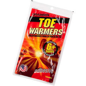 Grabber Toe Warmers, 8 Pairs