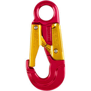 "Aluminum Double-Lock Safety Snap Hook, 6"" x 2-3/4"""