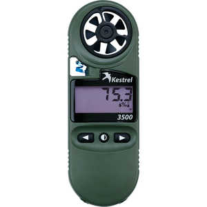 Kestrel 3500 Pocket Weather Meter, Night Vision Model