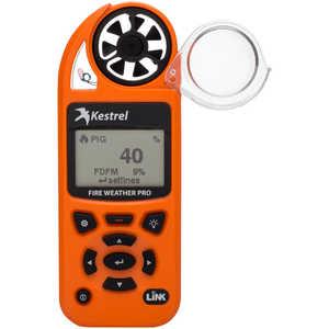 Kestrel 5500FW Fire Weather Meter Pro with LiNK and Vane Mount