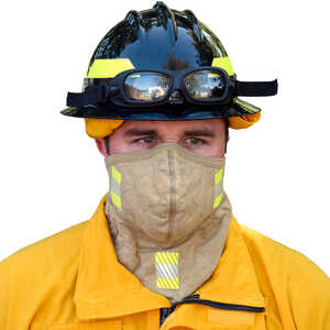 BarriAire™ Gold Particulate Mask with Gaiter and Reflective Trim