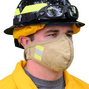 BarriAire™ Gold Particulate Mask with Reflective Trim