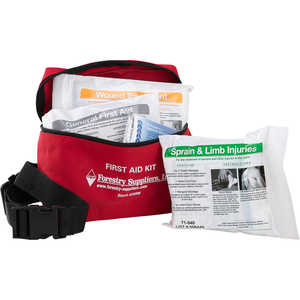 Forestry Suppliers Fanny Pack First Aid Kit