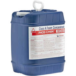 Phos-Chek WD 881 Fire Fighting Foam Concentrate, 5-Gallon Bucket