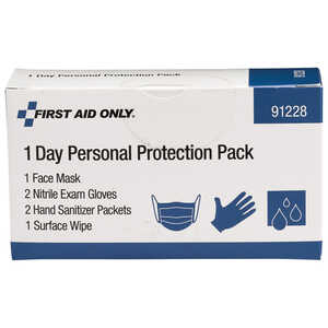 First Aid Only 1-Day Personal Protection Pack