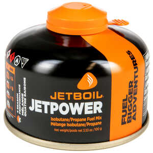 JetBoil JetPower Fuel, 100g Canisters, Case of 24