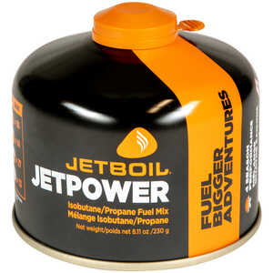JetBoil JetPower Fuel, 230g Canisters, Case of 24