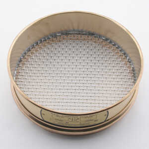 "No. 4; 4.75 mm/0.187"" Dual Manufacturing Standard Testing Sieve"