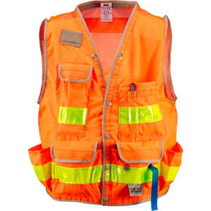SECO Class 2 Surveyor's Vest with Mesh Back