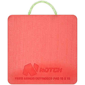 Notch Yard Armor Outrigger Pad, 15˝ x 15˝