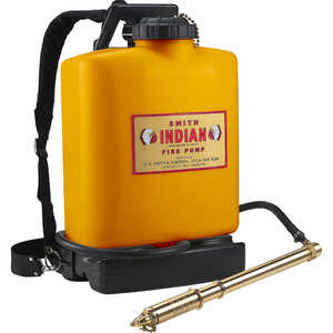 Indian Poly Backpack Firefighting Pump, 5 gal.