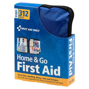 Home and Go First Aid Kit, 312 Pieces