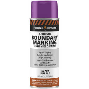 Forestry Suppliers Aerosol Purple Boundary Paint