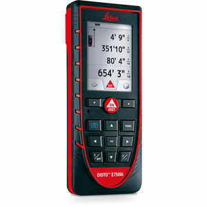 Leica DISTO Laser Distance Measurer Model E7500i