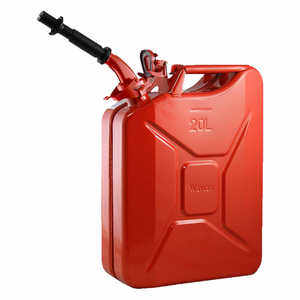 NATO 20-Liter Jerry Can with Spout, Red