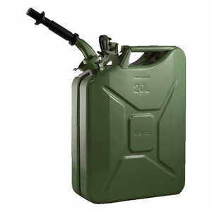 NATO 20-Liter/5.28 Gal. Jerry Can with Spout, Green