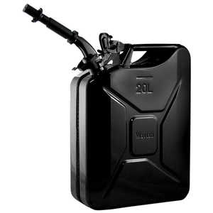NATO 20-Liter/5.28 Gal. Jerry Can with Spout, Black