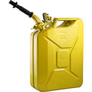 NATO 20-Liter/5.28 Gal. Jerry Can with Spout, Yellow