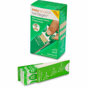 Easy Access Bandages, 30 Assorted Count, Plastic