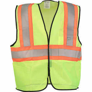 ANSI Class 2 Two-Tone Mesh Safety Vest