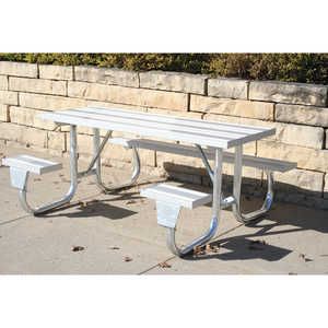J2GWC Series Welded Frame Table, 6'L
