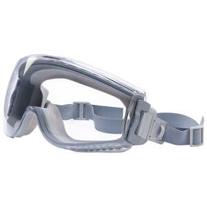Uvex Stealth Goggles, Clear Lens, Anti-Fog/Anti-Scratch