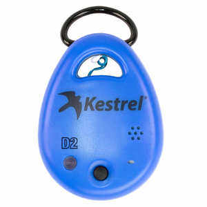 Kestrel DROP D2 Temperature, RH, Heat Index, Dew Point Data Logger, Blue
