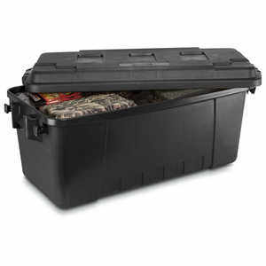 Plano Medium Sportsman's Trunk, 68 Quart, Black