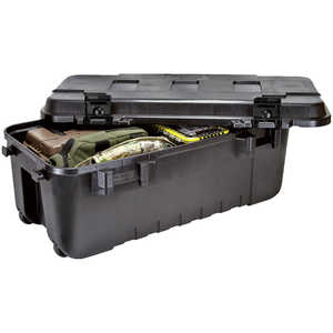 108 Quart Plano Wheeled Sportsman's Trunk, Black