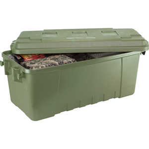 Plano Medium Sportsman's Trunk, 68 Quart, Olive Drab