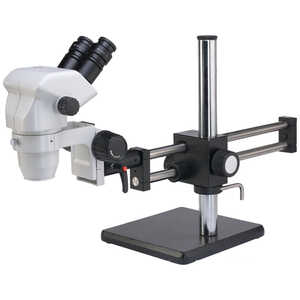 Accu-Scope Binocular Zoom Stereo Microscope with Ball Bearing Boom Stand