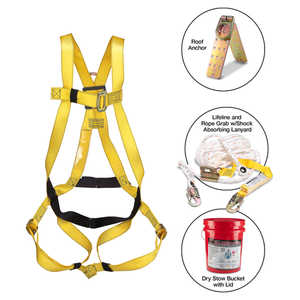 French Creek Roofer's Fall Protection Kit