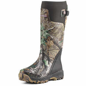 "15"", Size 7 LaCrosse Women's Alphaburly Pro Realtree Xtra Green Boots"