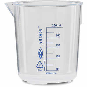 Polymethylpentene Beaker, 50 ml Capacity