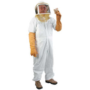 Zipper Veil Suit