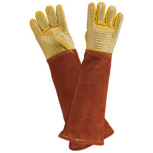 The Forester Vet-Pro Leather/Kevlar Handling Gloves