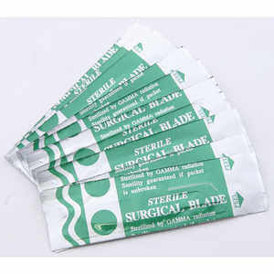 Replacement Surgeon's Blades, Pack of Ten #22 blades