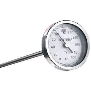 "Reotemp Compost Thermometer, 36"" Stem, 1/4"" Dia."