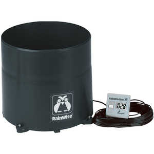 RainWise Electronic Recording Rain Gauge, Wired with 60' of Cable