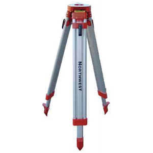 "NWI® Aluminum Builder's Tripod, 38""H closed, 62""H open."