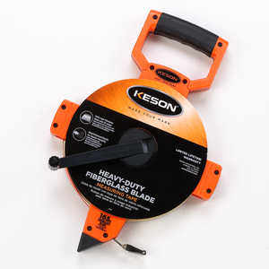 Keson Open Reel Fiberglass Tape, 165'/50m, Model OTR-18m-165