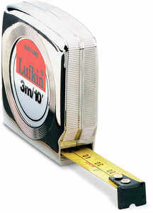 Lufkin Mezurall Cased Tape, 10'/3m, Model W9210ME