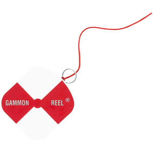 Gammon Reel w/6-1/2' Red String
