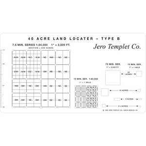 40-Acre Land Locator, Type B