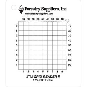 Forestry Suppliers UTM II Grid Reader
