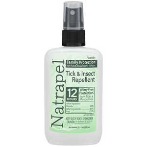 3.4 oz.  Natrapel Plus Insect Repellent, 3.4 oz. Spray Bottle