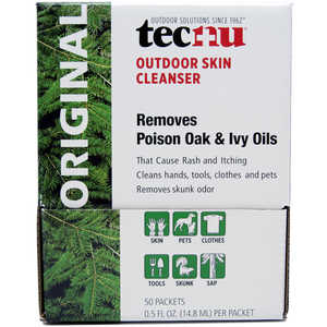 Tecnu Oak-n-Ivy Cleanser, Box of 50 0.5 oz. Packets
