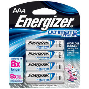 Energizer AA Cell Lithium Batteries